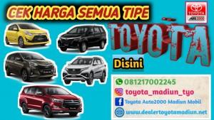 Promo Toyota Bulan Maret 2020 Hub : TYO 081217002245