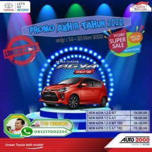 Promo New Agya 2020 .Hub : Tyo 081217002245