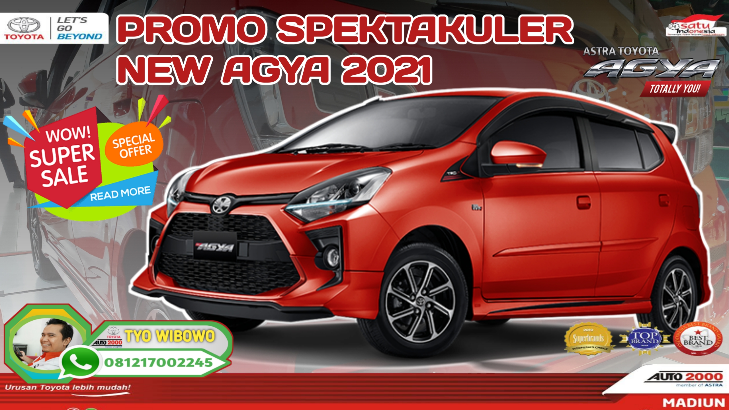 Best Promo New Agya New 2021
