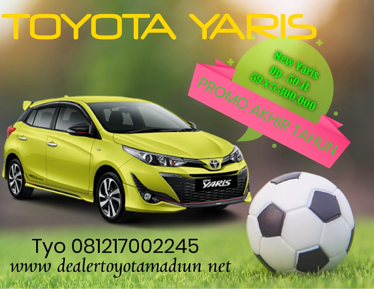 Info Toyota Yaris Hub : Tyo 081217002245