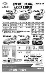Harga Toyota oktober 2018, Diskon & Bonus Spesial ,Harga Termurah Segera Wa Tyo Wibowo 081217002245