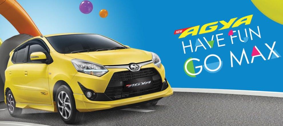 Toyota Agya New Promo