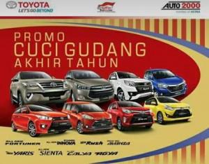 Pesta Akhir Tahun Toyota Diskon dan Bonus