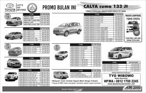 Promo Toyota JuLi 2019 , Banyak Diskon Dan Bonus Spesial Segera Klik Tombol Wa nya...